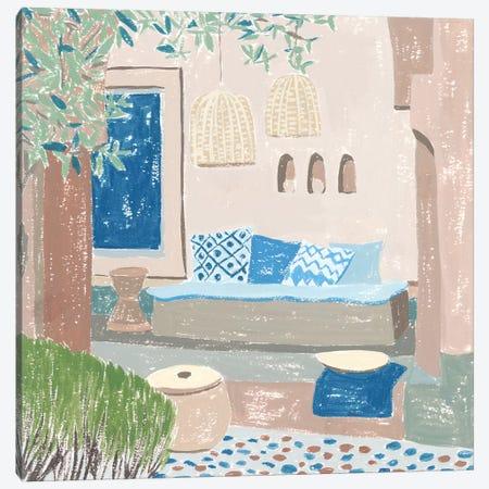 The Salty Breeze VI Canvas Print #WNG1168} by Melissa Wang Art Print