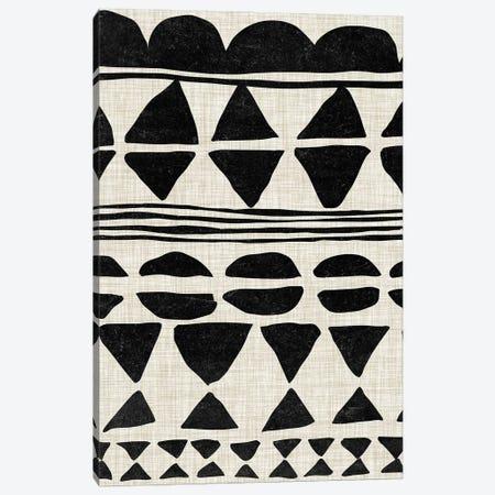 Monochrome Quilt II Canvas Print #WNG1176} by Melissa Wang Canvas Print