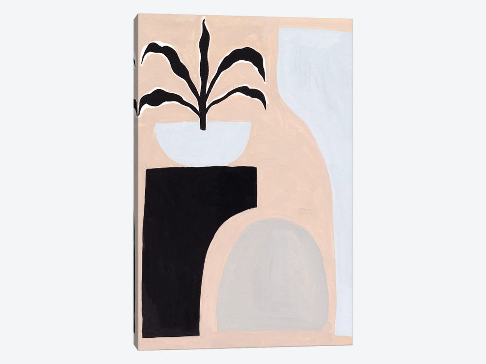 Pale Abstraction I by Melissa Wang 1-piece Canvas Print