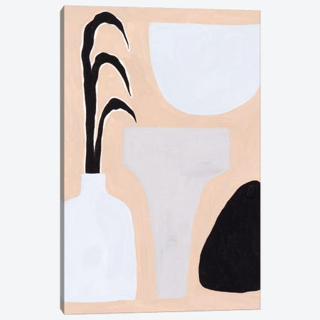 Pale Abstraction III 3-Piece Canvas #WNG1211} by Melissa Wang Canvas Art Print