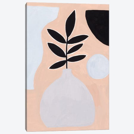 Pale Abstraction IV Canvas Print #WNG1212} by Melissa Wang Canvas Art Print
