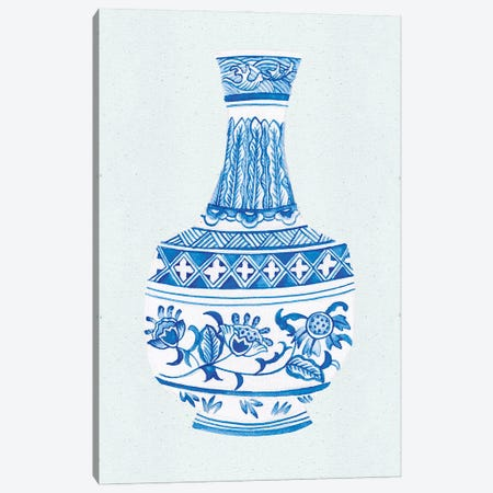 Qing Vase I Canvas Print #WNG1213} by Melissa Wang Art Print