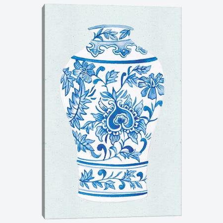 Qing Vase II Canvas Print #WNG1214} by Melissa Wang Canvas Artwork