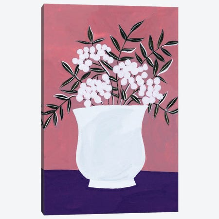 Tree Berries I Canvas Print #WNG1219} by Melissa Wang Art Print