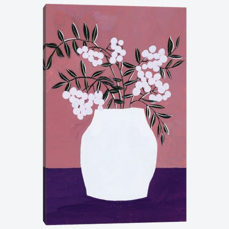 Tree Berries II Canvas Print #WNG1220} by Melissa Wang Canvas Artwork