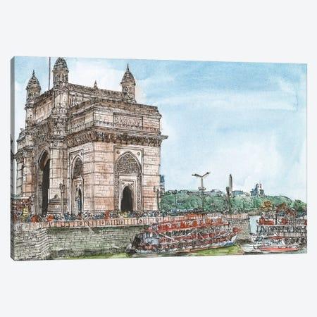 Dreaming of India I Canvas Print #WNG1227} by Melissa Wang Art Print