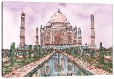 Dreaming of India II Canvas Art Print