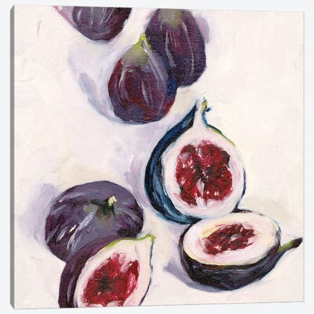 Figs in Oil I Canvas Print #WNG1231} by Melissa Wang Art Print