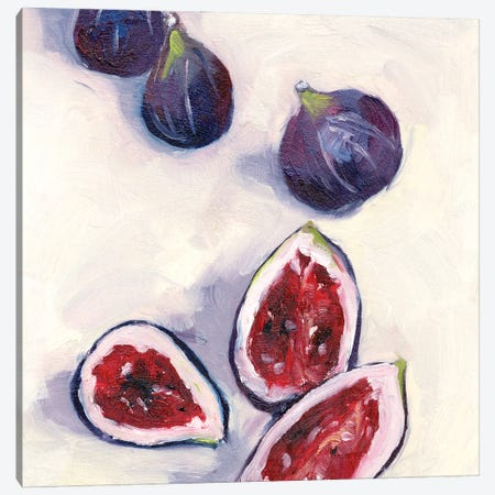 Figs in Oil II Canvas Print #WNG1232} by Melissa Wang Canvas Art Print