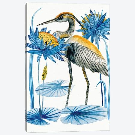 Heron Pond I 3-Piece Canvas #WNG1237} by Melissa Wang Canvas Artwork