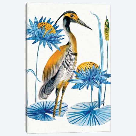 Heron Pond II 3-Piece Canvas #WNG1238} by Melissa Wang Art Print