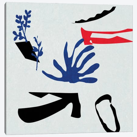 Poker I Canvas Print #WNG1241} by Melissa Wang Canvas Wall Art