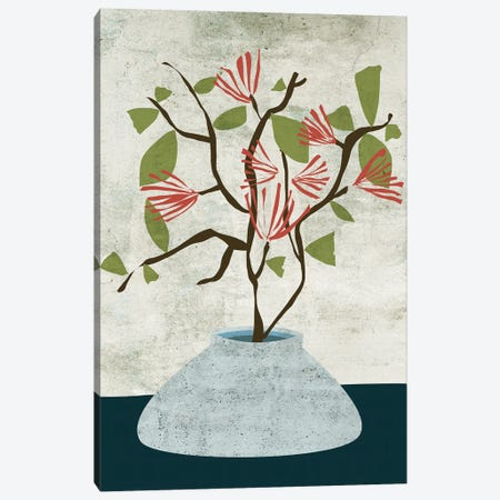 Zen Branch I Canvas Print #WNG1253} by Melissa Wang Canvas Print