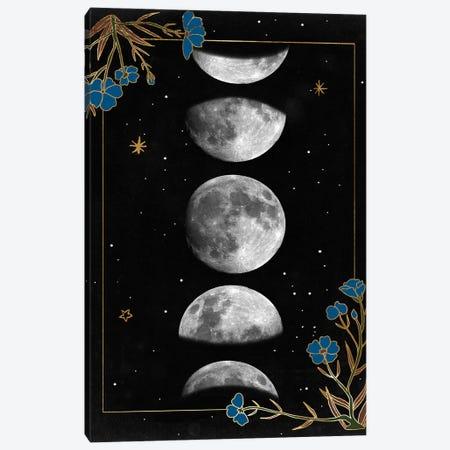 Night Moon I Canvas Print #WNG1261} by Melissa Wang Canvas Artwork