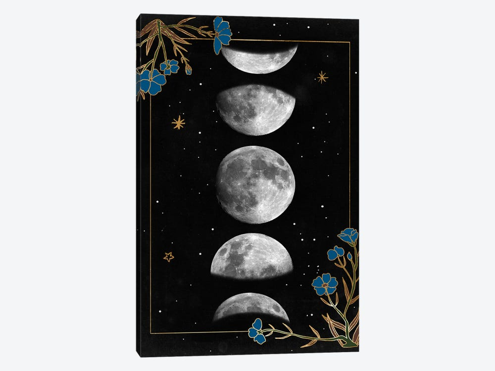 Night Moon I by Melissa Wang 1-piece Canvas Print