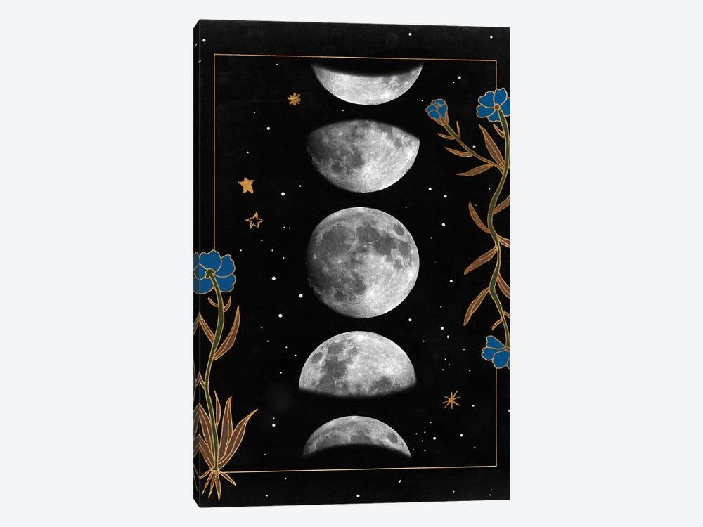 Night Moon II by Melissa Wang 1-piece Canvas Artwork