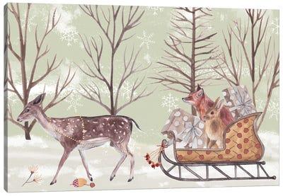 Christmas Time II Canvas Art Print