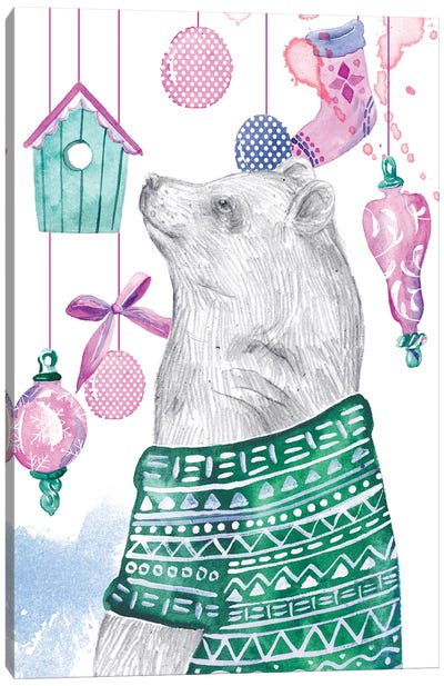 December Tree III Canvas Art Print