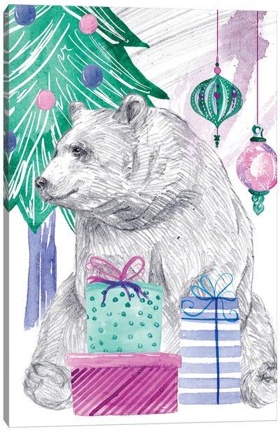 December Tree IV Canvas Art Print