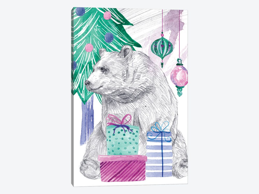 December Tree IV by Melissa Wang 1-piece Art Print
