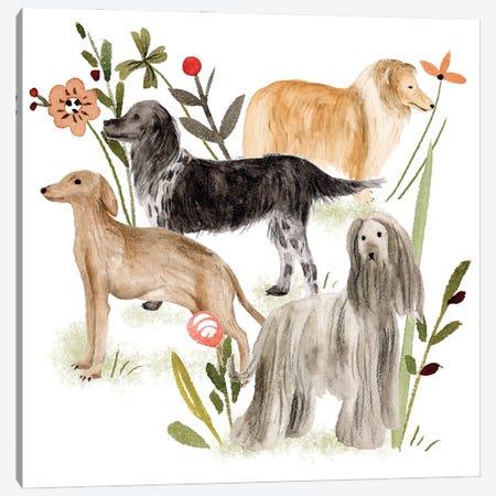 A Little Walk II Canvas Print #WNG1271} by Melissa Wang Canvas Art Print