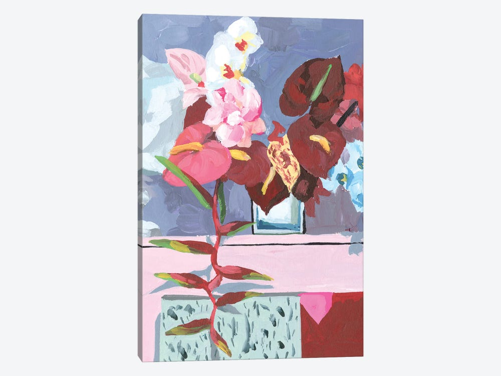 Flame Bouquet I by Melissa Wang 1-piece Canvas Print