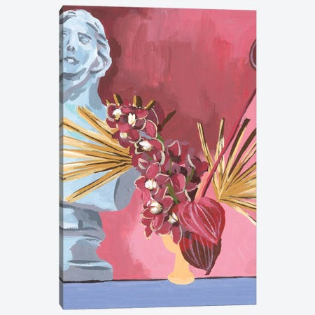 Flame Bouquet II Canvas Print #WNG1277} by Melissa Wang Canvas Wall Art