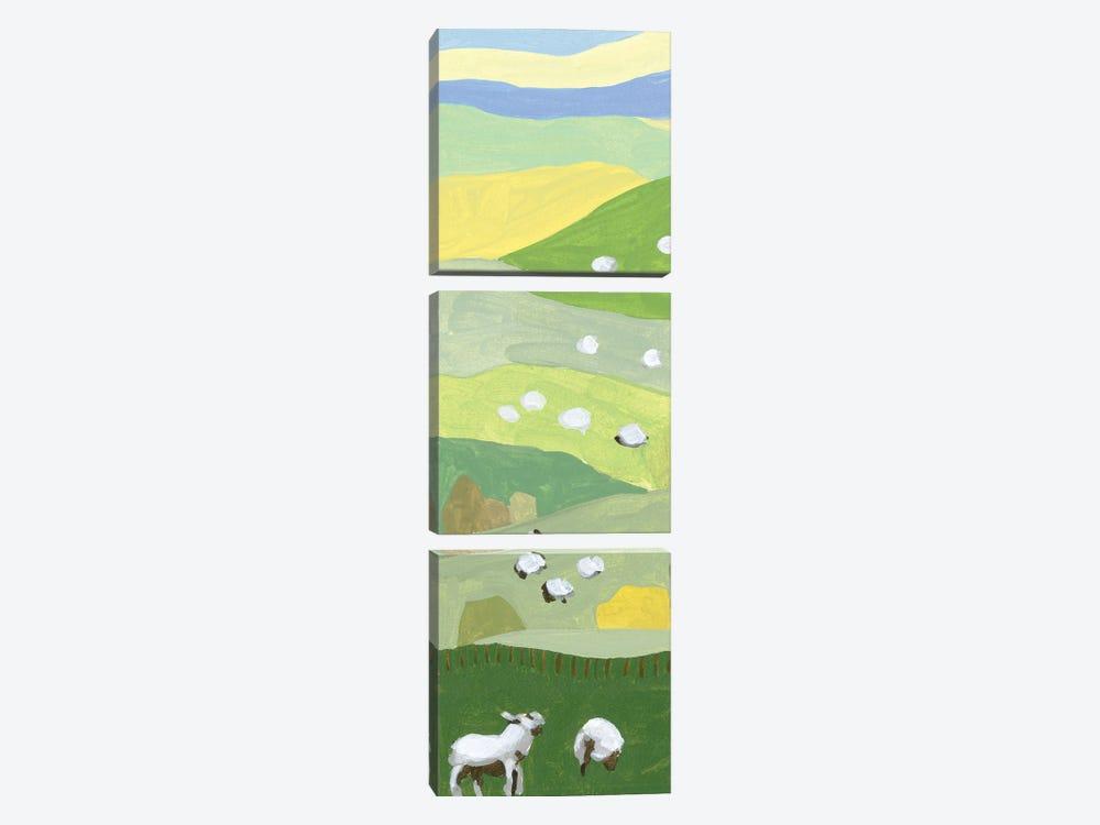 Mountain Sheep I by Melissa Wang 3-piece Canvas Wall Art