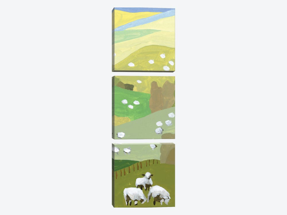 Mountain Sheep II by Melissa Wang 3-piece Art Print