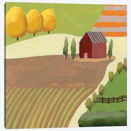 The Hill Village I Canvas Print #WNG1288} by Melissa Wang Canvas Art