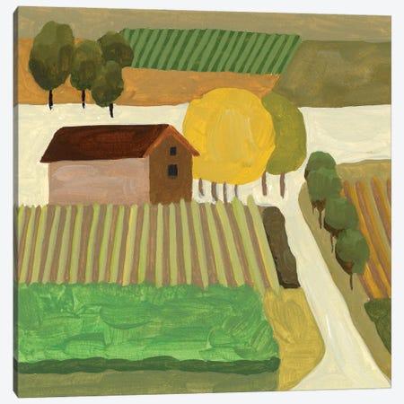 The Hill Village II Canvas Print #WNG1289} by Melissa Wang Canvas Art