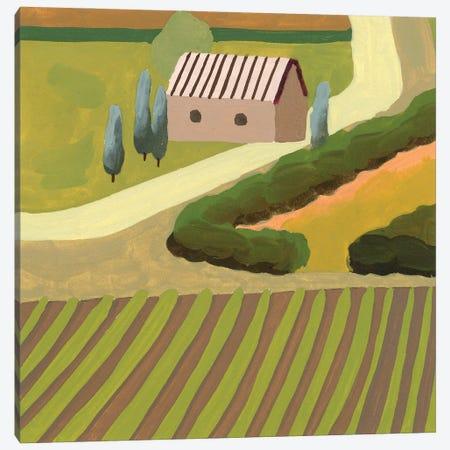 The Hill Village III Canvas Print #WNG1290} by Melissa Wang Art Print