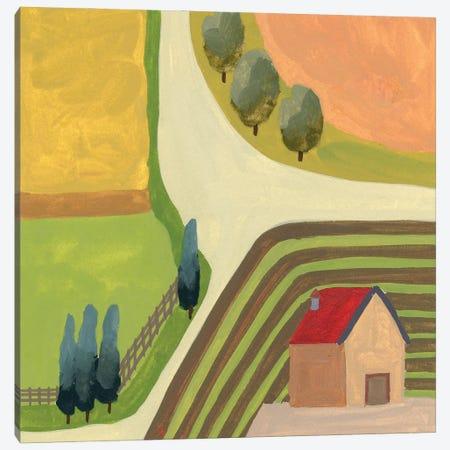 The Hill Village IV Canvas Print #WNG1291} by Melissa Wang Canvas Print