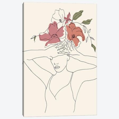 Blooming I Canvas Print #WNG1302} by Melissa Wang Canvas Art Print