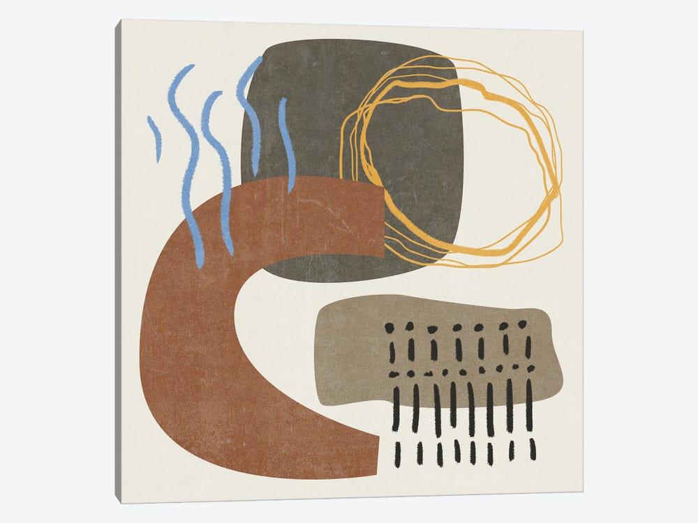 Blue Stream I by Melissa Wang 1-piece Canvas Print