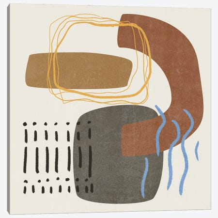 Blue Stream II Canvas Print #WNG1305} by Melissa Wang Canvas Art