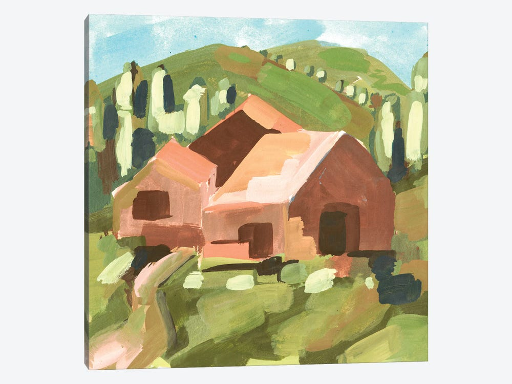 Harvest Valley I by Melissa Wang 1-piece Canvas Art