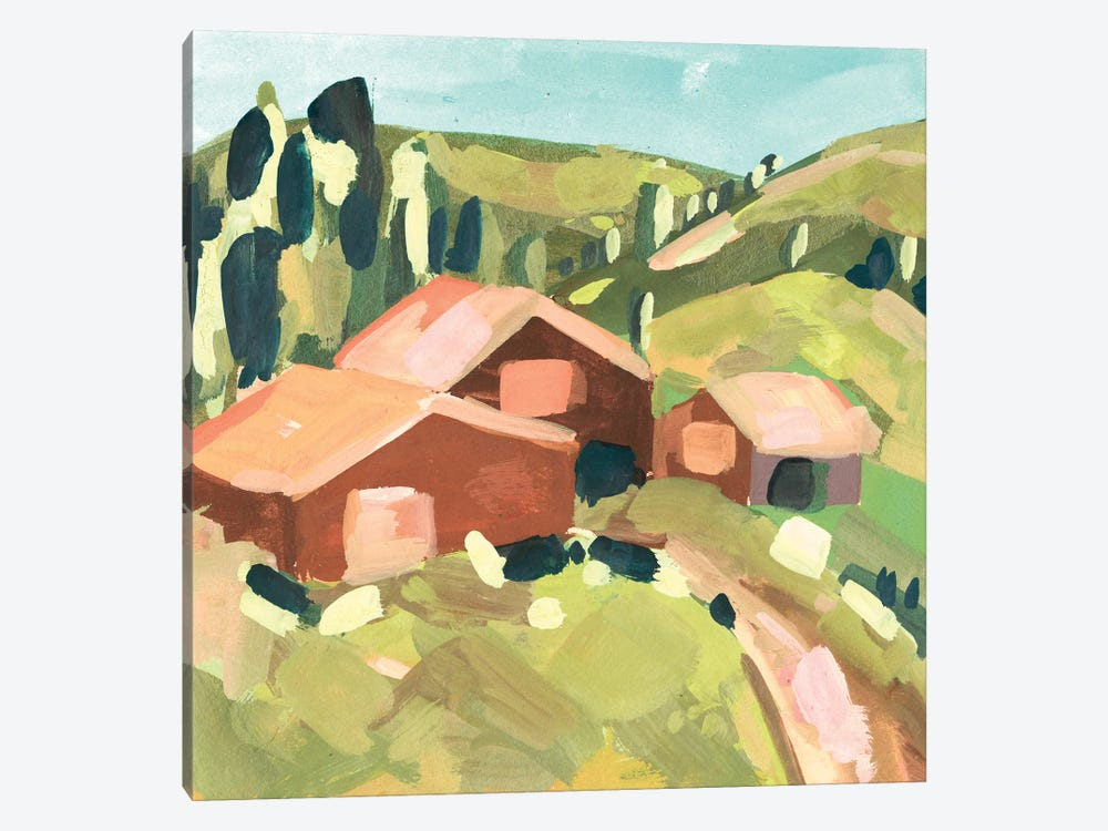 Harvest Valley II by Melissa Wang 1-piece Art Print