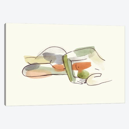 Nude II Canvas Print #WNG1323} by Melissa Wang Canvas Print