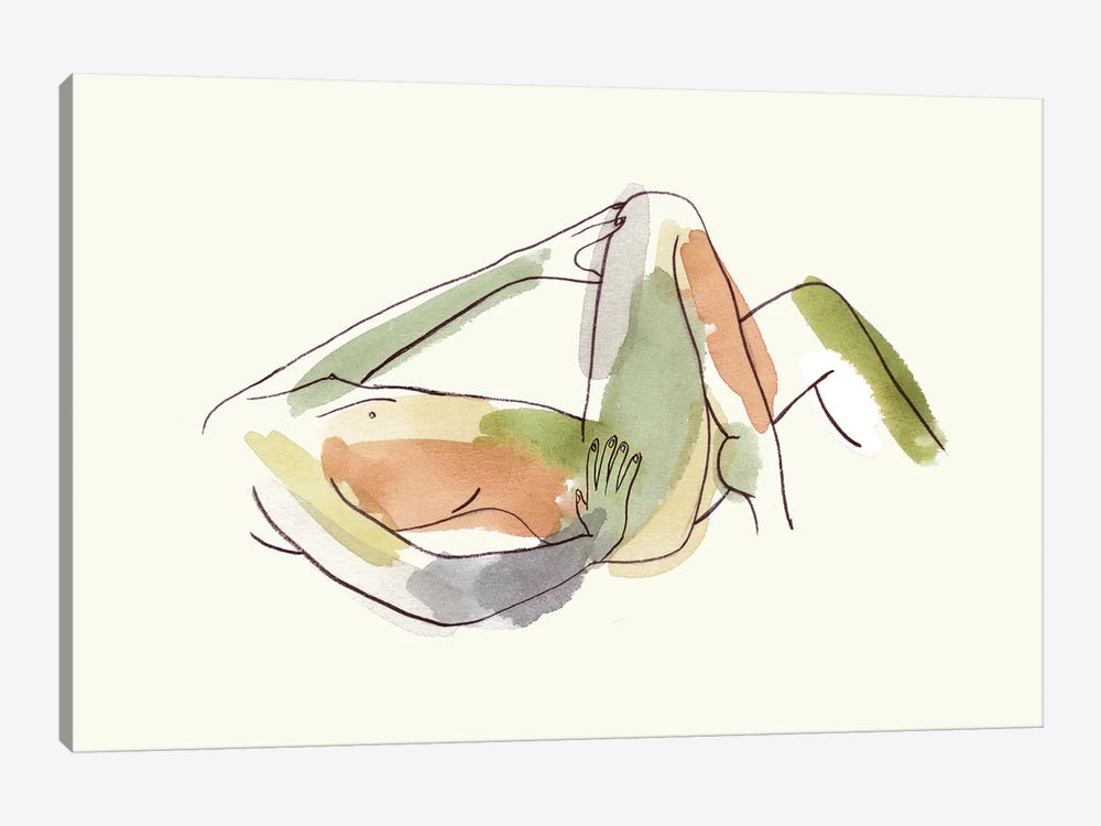 Nude III by Melissa Wang 1-piece Canvas Art Print