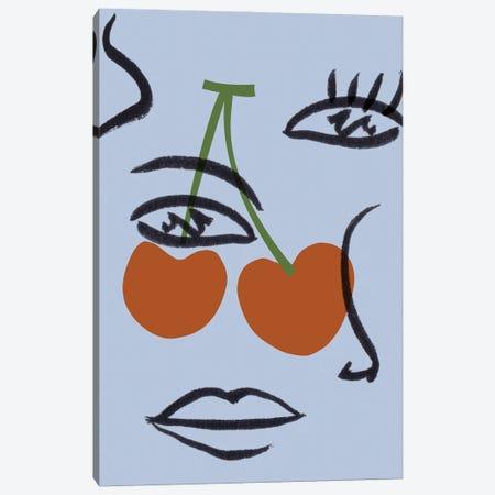 Cherry Baby I Canvas Print #WNG1341} by Melissa Wang Art Print