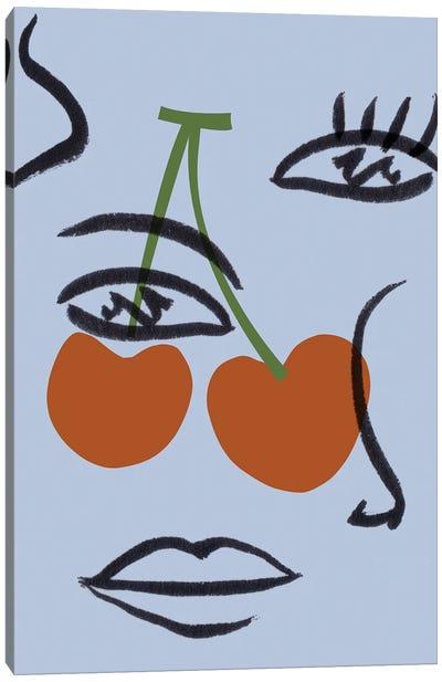 Cherry Baby I Canvas Art Print