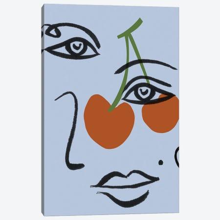 Cherry Baby II Canvas Print #WNG1342} by Melissa Wang Canvas Art Print