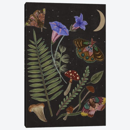 Dark Forest II Canvas Print #WNG1350} by Melissa Wang Canvas Wall Art