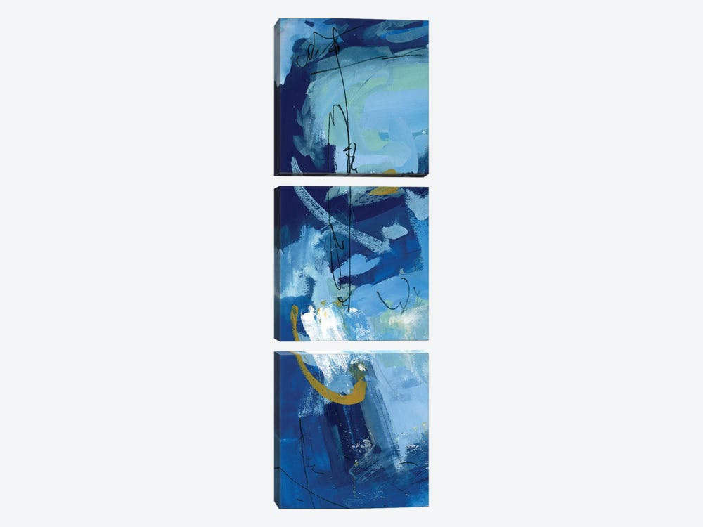 Composition 3B by Melissa Wang 3-piece Canvas Print