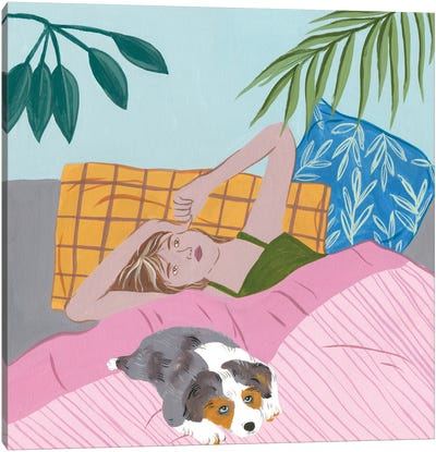 Lazy Afternoon III Canvas Art Print