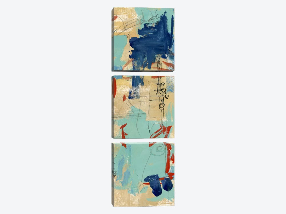 Composition 4A by Melissa Wang 3-piece Canvas Artwork