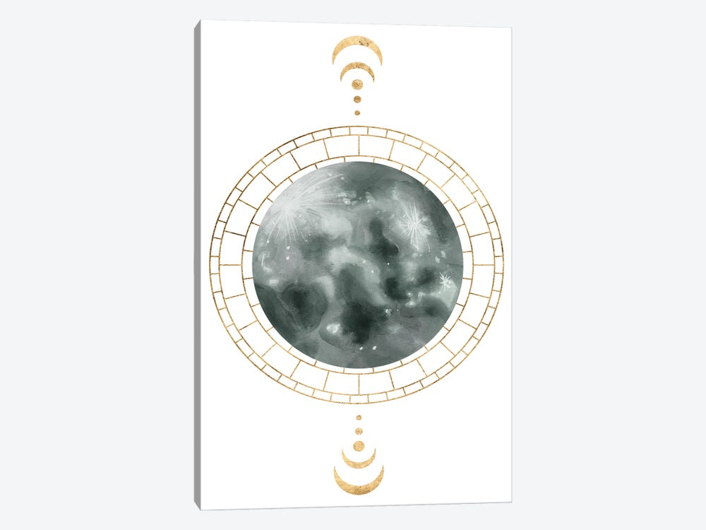 Lunar Phase I by Melissa Wang 1-piece Canvas Print