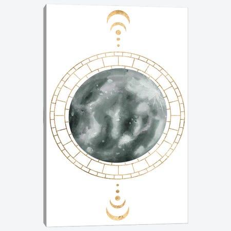 Lunar Phase II Canvas Print #WNG1387} by Melissa Wang Canvas Wall Art