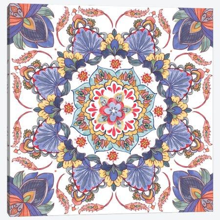 Mandala Meditation II Canvas Print #WNG1390} by Melissa Wang Canvas Artwork